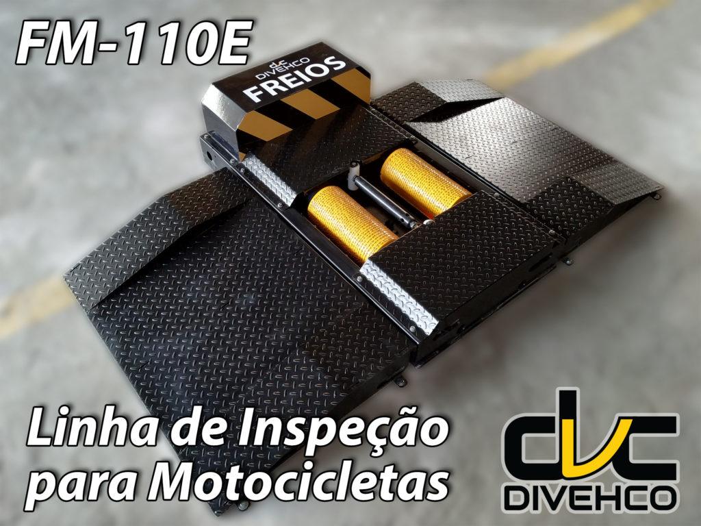 Linha de inspeção para motocicletas